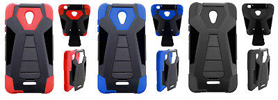 T-Stand Hybrid Case Phone Cover for Alcatel Raven LTE A574BL