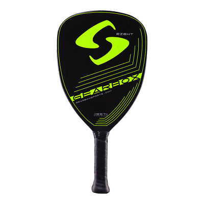"Pickleball Paddle, Gearbox Eight Pro, 8 oz Neon yellow 3 15/16"" (large) grip"
