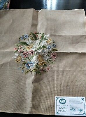 BRAND NEW QUEEN ADELAIDE Trammed TAPESTRY CANVAS & WOOL No. A413