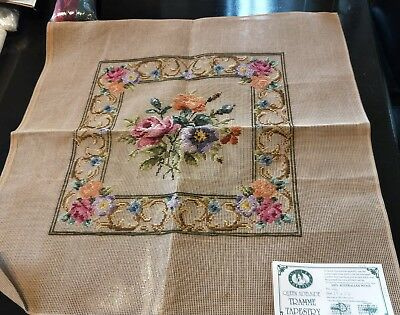 BRAND NEW QUEEN ADELAIDE Trammed TAPESTRY CANVAS & WOOL No. A6