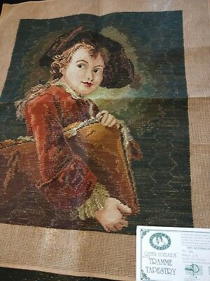 BRAND NEW QUEEN ADELAIDE Trammed TAPESTRY CANVAS & WOOL No. 386