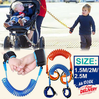 Toddler Kids Baby Belt Hand Strap Wrist Leash Anti-lost Harness Safety Walking