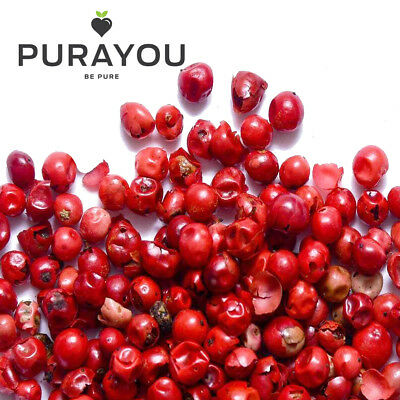Pink Peppercorns Whole & Dried - Premium A1 Quality - Free P&P