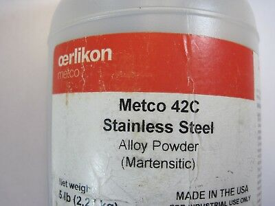 Thermal Spray Powder Oerlikon Metco 42C (Eutectic 29012) Martensitic Stainless
