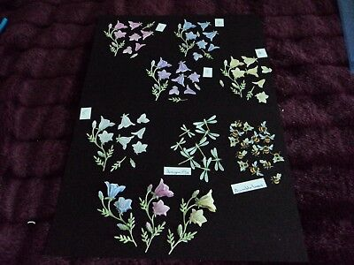 10 Tattered Lace Bell Die Cuts