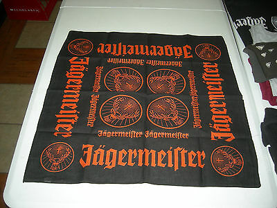 Jagermeister Bandana  - Brand New In The Package