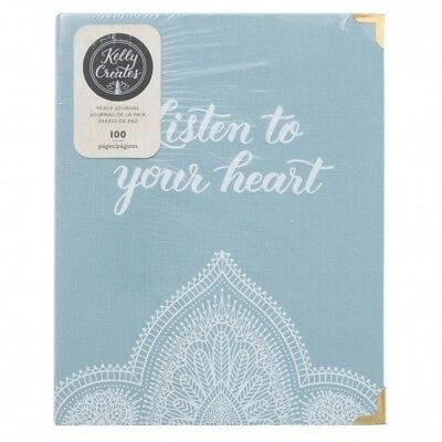 Kelly Creates Peace Journal DIN A5 Planner Scrapbook Travellers Notebook TN