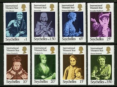 Seychelles  1975  Scott # 331-338  Mint Never Hinged Set