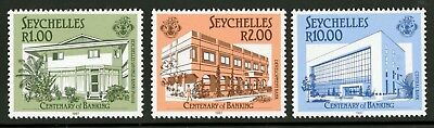Seychelles  1987  Scott # 622-624  Mint Never Hinged Set