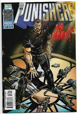 Punisher 18 VF+ RARE HTF last issue low print run vol 3 1997 1st bearded Frank