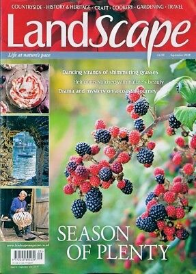 Landscape Magazine September 2018 ~ New With Free Fast P&p ~
