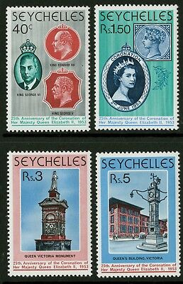 Seychelles  1978  Scott # 413-416  Mint Never Hinged Set