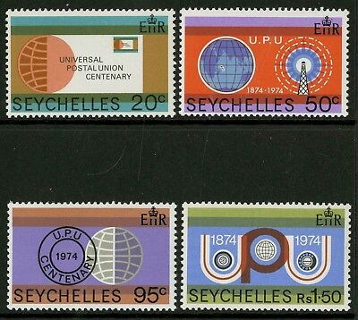 Seychelles  1974  Scott # 317-320  Mint Never Hinged Set