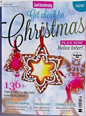 Good Housekeeping Magazine Special Issue ~ Get Ahead For Christmas 2018 ~ New ~
