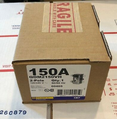 New! Main Breaker 150 SD QOM2150VH 150-Amp 2-Pole 120//240v~ 50//60 Hz