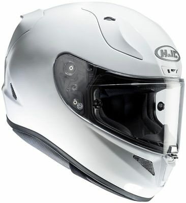 HJC RPHA 10 Gloss White Full Face Motorcycle Helmet XL Free Pinlock &Smoke Visor