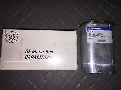General Electric 97F9615 Motor Start Capacitor Oval 40MFD 370VAC