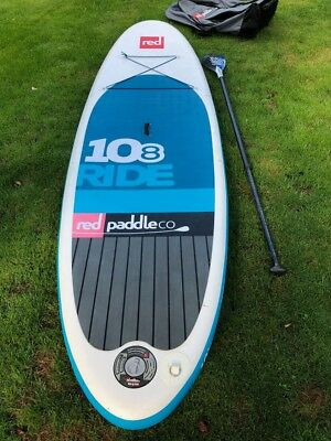 Rent - Miete SUP Stand Up Paddle Red Paddle 10.8