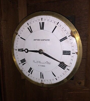 Henry Lepaute Paris Regulateur de Gare Ancien Pendule Brocot Garnier Clock