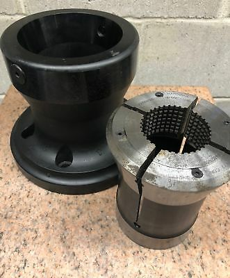 ATS Workholding CNC Lathe Collet Chuck with Hardinge S-35 Master Collet