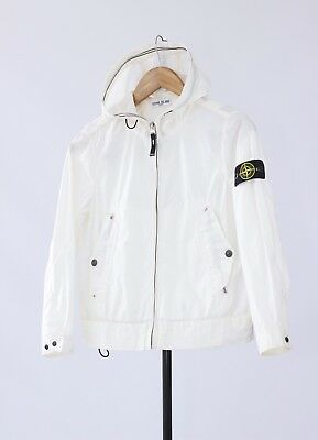 8 years Kids Boys STONE ISLAND Spalmatura Hooded Windbreaker Jacket art 50164333