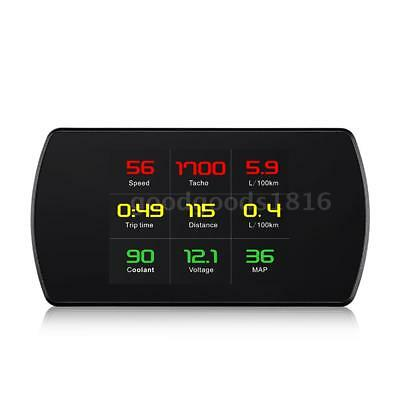 "4.3"" Digital TFT LCD HUD Head Up Display OBDII Interface Acceleration Mode L1T2"
