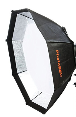 PhotoSEL Octagonal Softbox with Carrying Bag 170cm NO Support Rods