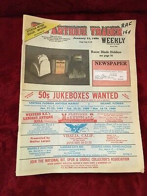 Lot of 21 1989 The Antique Trader Weekly