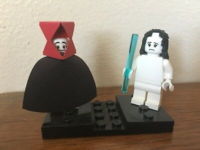 "Peter Gabriel Genesis ""Supper's Ready"" Custom LEGO Figures!"