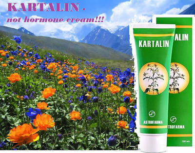 KARTALIN. 100% natural ointment for psoriasis Kartalin. Free shipping!!!