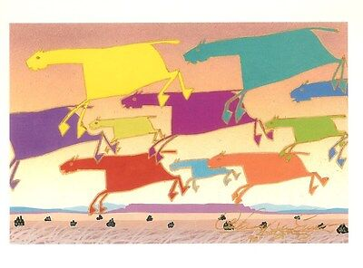 """A dozen  Notecards by Anthony Emerson, """"Dreamscape: Horse Crossing"""""""