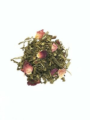 Organic Loose Leaf Kyoto Blossom Rose Green Tea