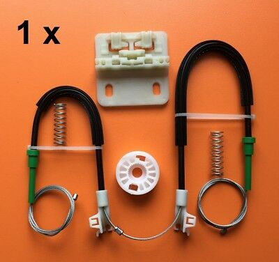For Land rover Freelander Window Regulator Repair Kit With Cables- Rear Right