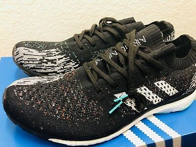 more photos 4391d d8275 New Mens Adidas Adizero Prime LTD Core Black White Grey CP8922 sz 9 Running