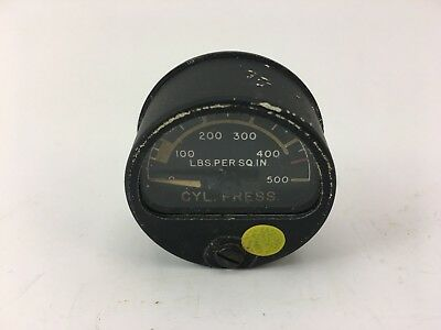 vintage general electric Gage, Oxygen, Low Pressure. CYL. Press.