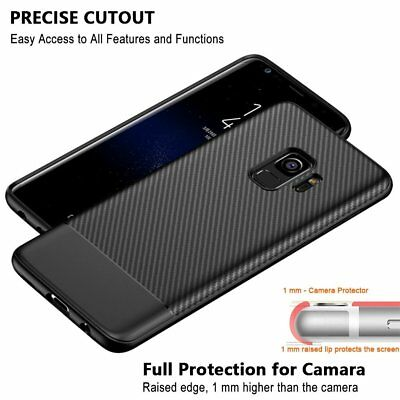 For Samsung Galaxy S8 S9 Plus Luxury Ultra Slim Case Shockproof Bumper Cover