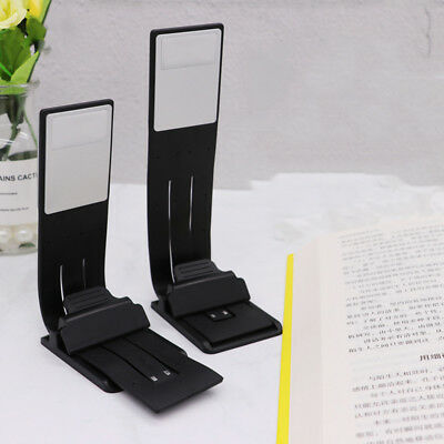 LED Reading Book Light With Detachable Flexible Clip USB Rechargeable Lamps GH23