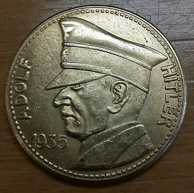 German military leader coin WW2 WWII Germany 1933 100 Reichsmark