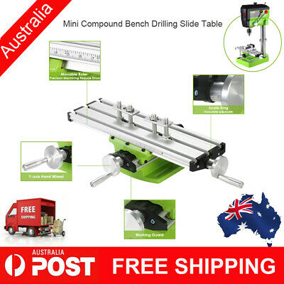 Compound Bench Drilling Slide Worktable Milling Working for Bench Drill Stand