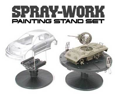 JAPAN TAMIYA #74522 SPRAY-WORK PAINTING STAND SET FREE SAL SHIP 2where available