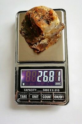26.81g - Genuine Natural  Antique Old Baltic Amber Stone Bernstein