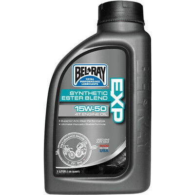 NEW Belray MX 1L EXP Synthetic Ester Blend 15w50 Motorbike 4 Stroke Engine Oil
