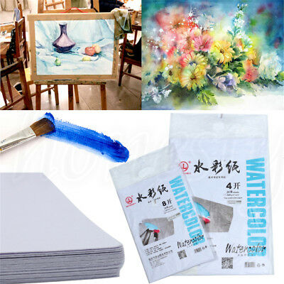 20 Sheets Watercolour Paper Art Artist Sketchbook Sketch Pad Drawing Painting