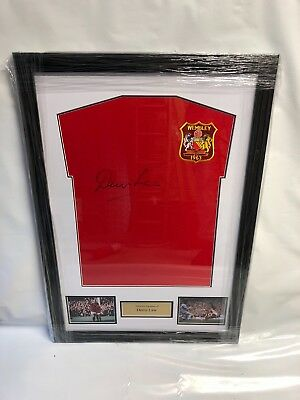 Dennis law 1963 FA CUP FINAL signed shirt with COA