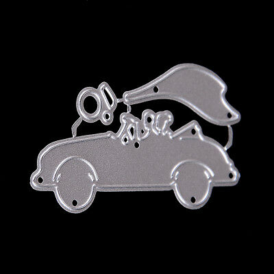 The bride and groom Wedding Car Cutting Dies For Scrapbooking Paper Craft  X