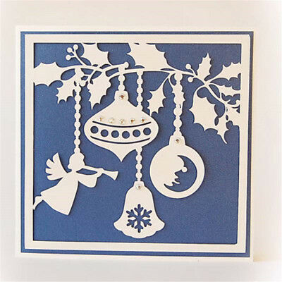 Christmas angle cutting dies stencil diy scrapbook album paper card embossing  X