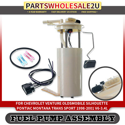 Herko Automotive Fuel Pump Module Assembly For Venture Montana Silhouette 98-01
