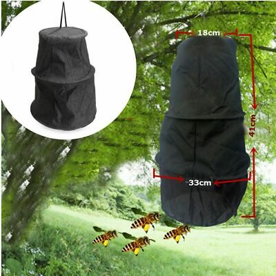Black Beekeeper Bee Hive Cage Swarm Trap Swarming Catcher Gather Beekeeping Tool