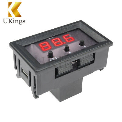 W1209 12V Digital Thermostat -50-110°C Temperature Controller Switch Sensor+Case