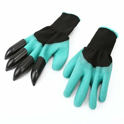 Gardening Gloves for garden Digging Planting with Claws Latex Work Glove N2